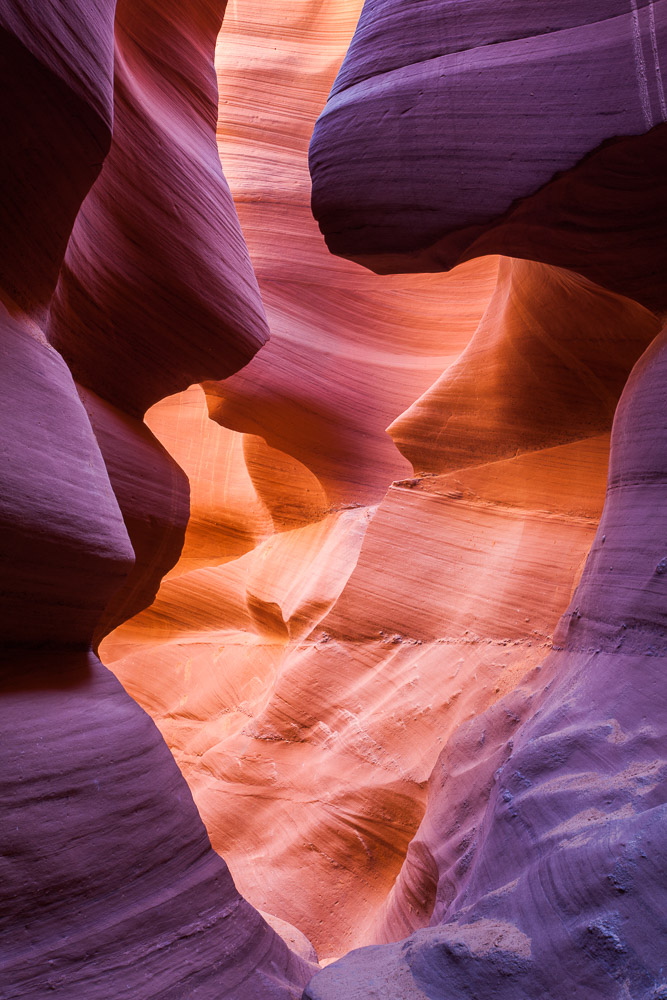 50 Shades of Magenta, Antelope Canyon, Arizona, USA