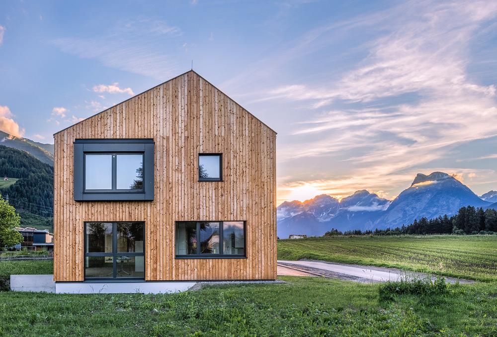 Holzhaus, Tirol
