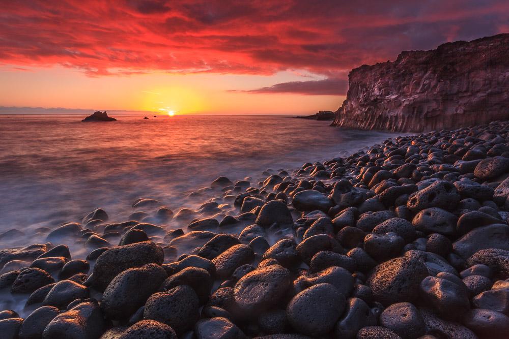 Playa La Bombilla, La Palma, Kanarische Inseln