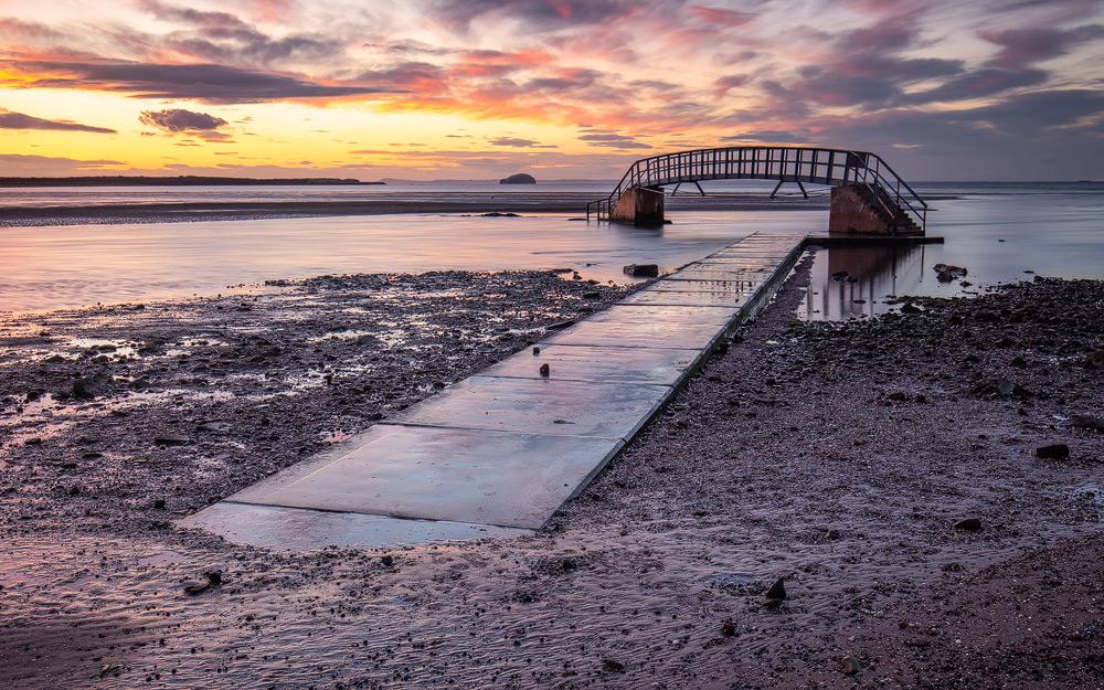 Bridge to Nowhere, Dunbar, Schottland