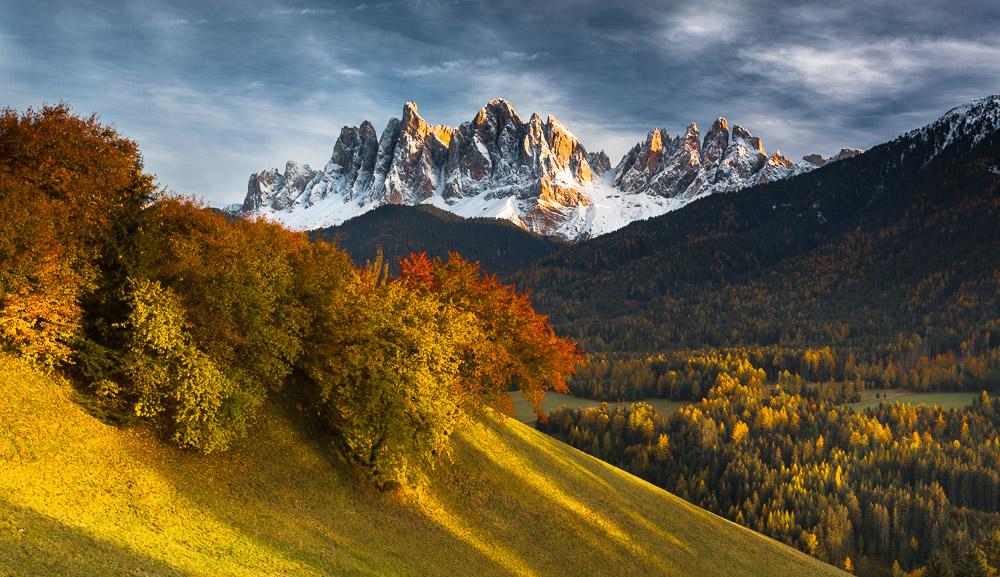 Silent Transition, Geislerspitzen, Villnöstal, Dolomiten, Südtirol, Italien