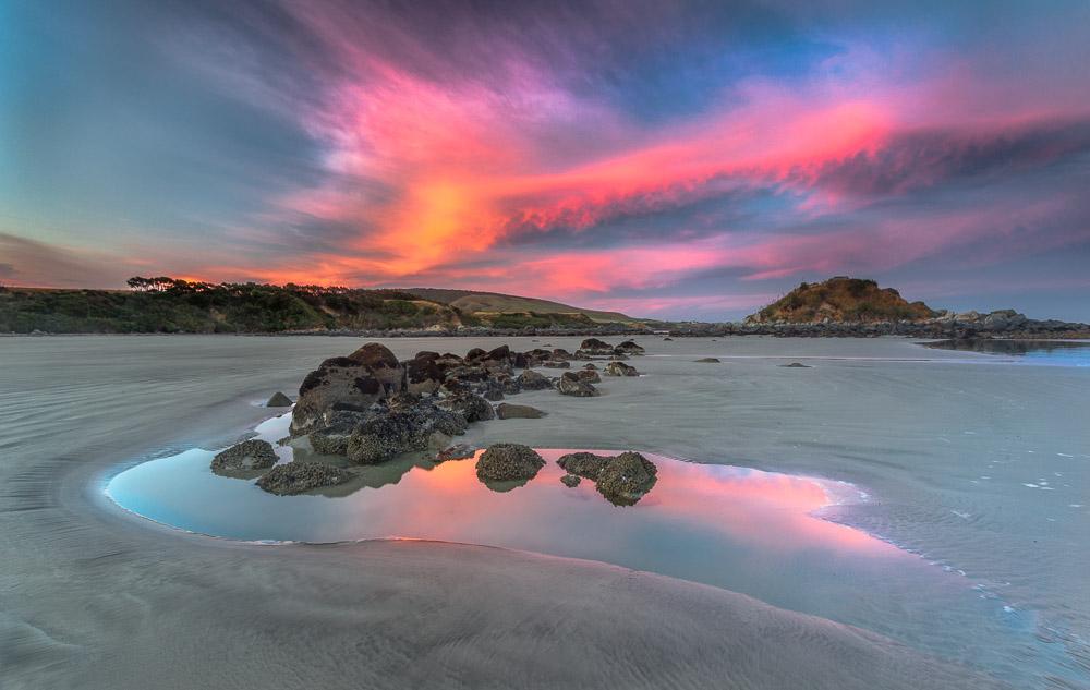 Monkey Island, Orepuki, Neuseeland