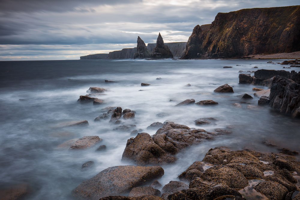 Duncansby Stacks, Duncansby Head, Schottland