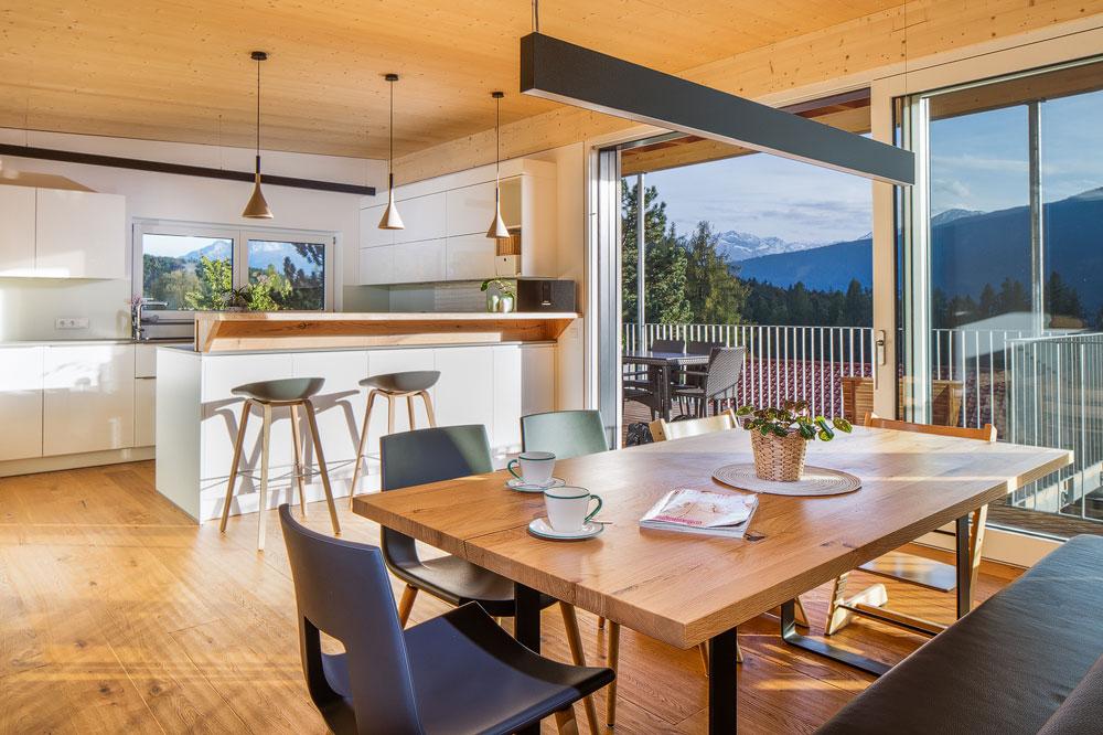 Küche, Einfamilienhaus, Reith bei Seefeld, Tirol