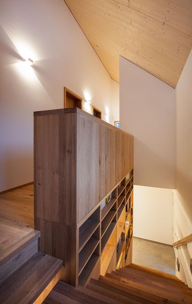 Stiegenhaus, Einfamilienhaus, Ranggen, Tirol