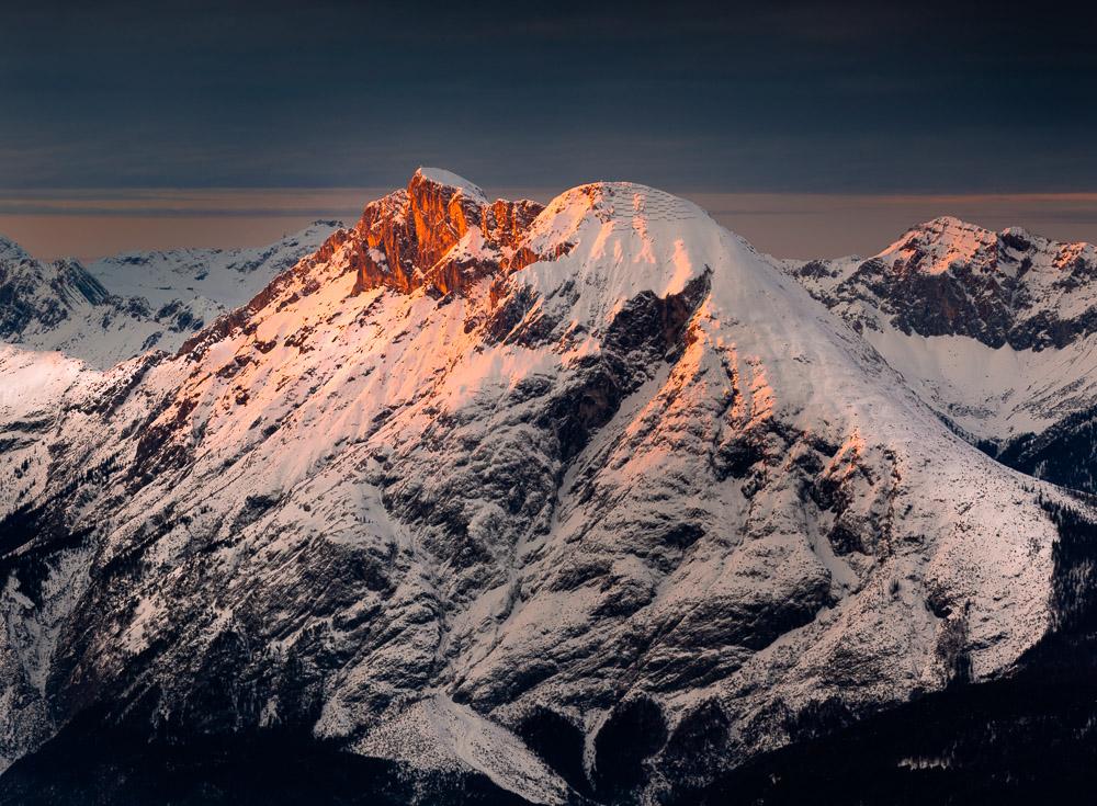 Portrait of a Mountain, Hohe Munde, Mieminger Kette, Tirol, Österreich