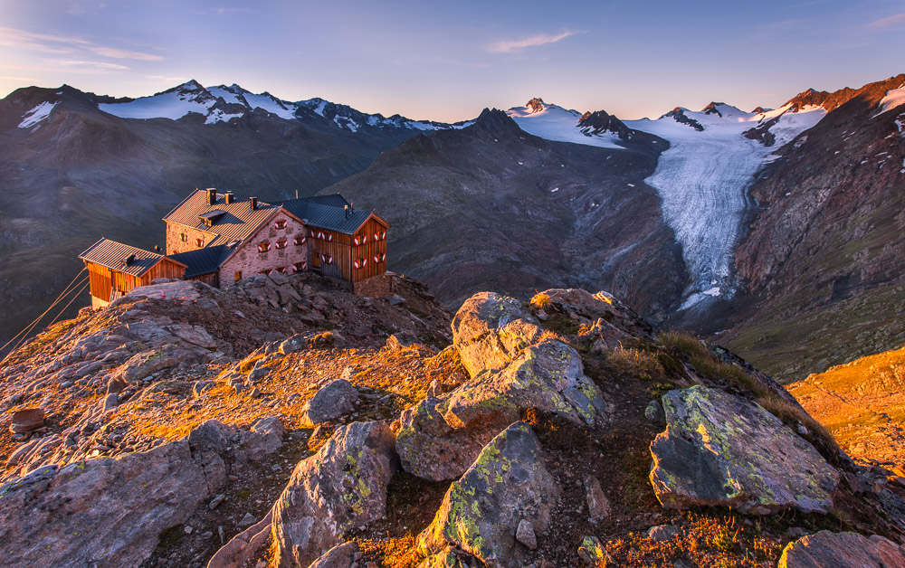 Ramolhaus (DAV Sektion Hamburg und Niederelbe e.V.) ,Ötztaler Alpen, Tirol, Österreich