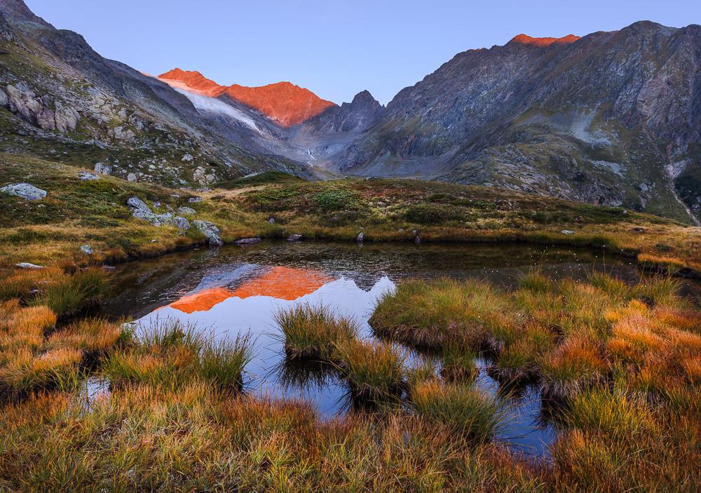 Reflecting Mind, Stubaital, Tirol, Österreich