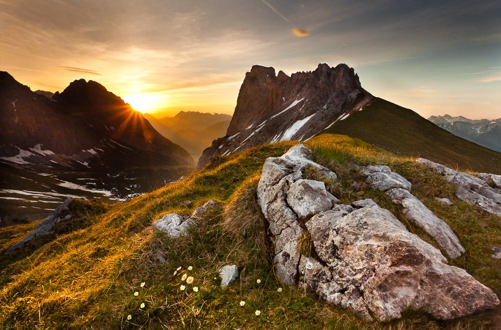 The Castle, Wettersteingebirge, Tirol, Österreich