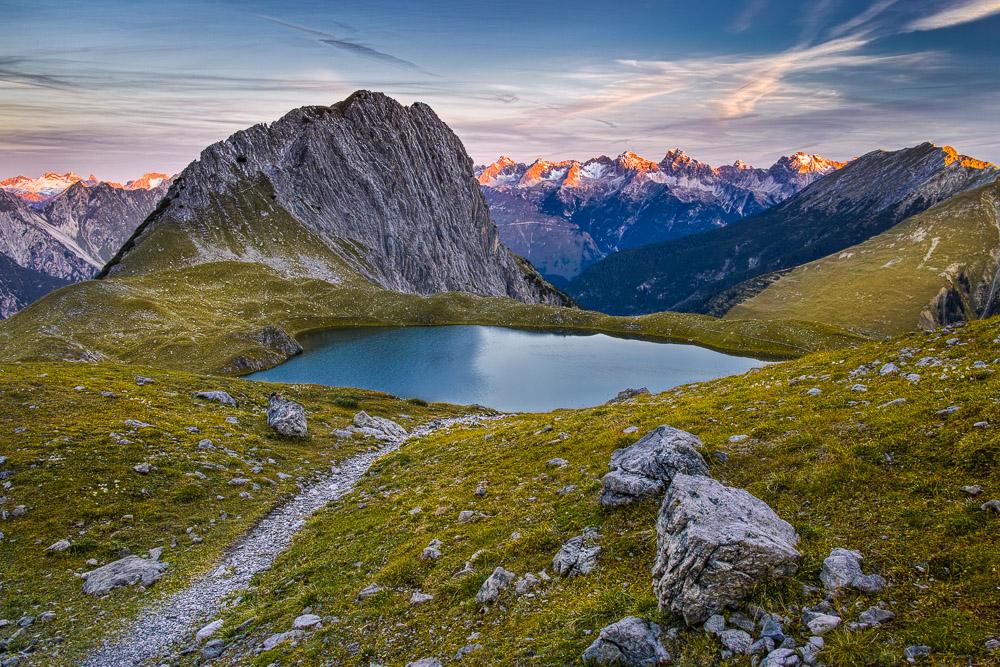 The Guardian, Kogelsee, Lechtaler Alpen, Tirol, Österreich