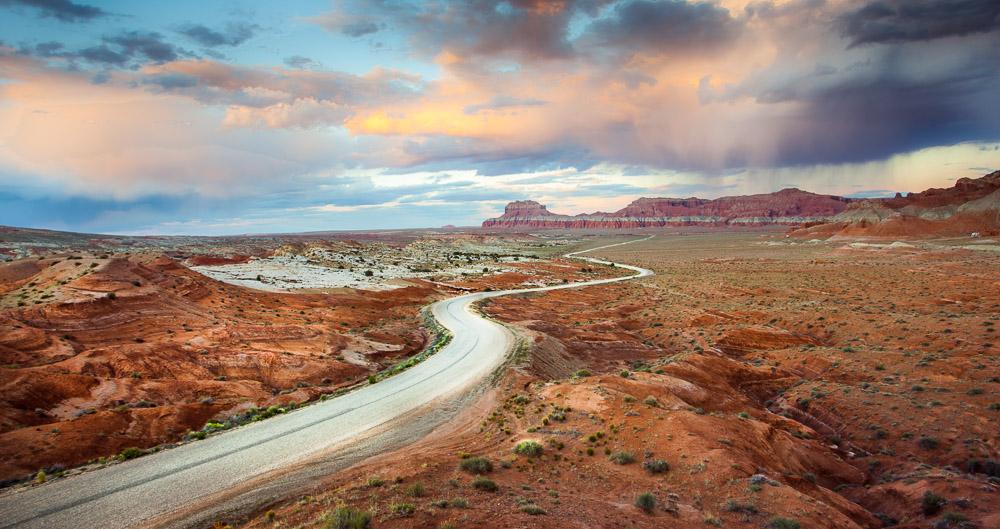 Wild Horse Road, Utah, USA