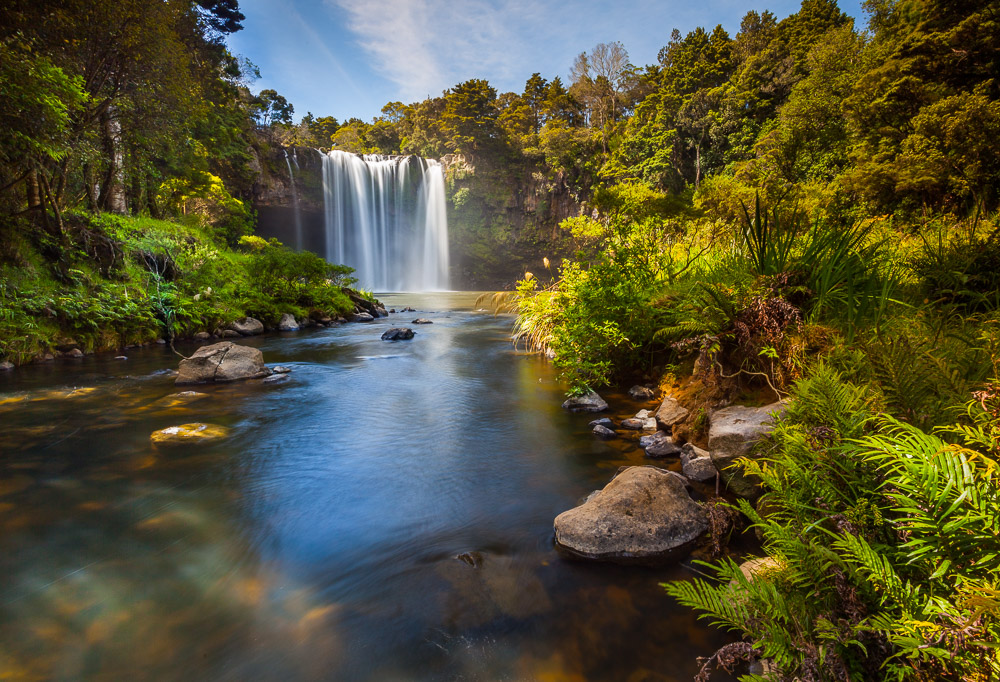 Rainbow Falls, Kerikeri, Neuseeland