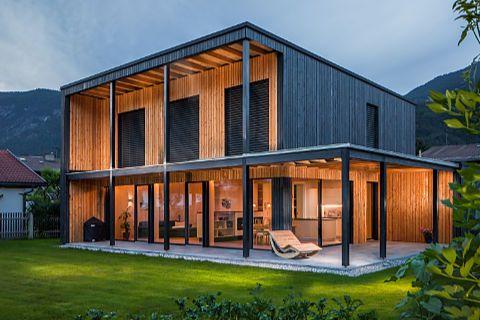 Außenarchitekturbilder (Exterior) von Christof Simon, Architekturfotograf Tirol