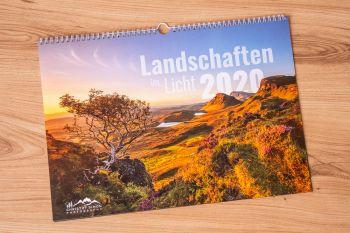 """Jahreskalender """"Landschaften im Licht 2020"""" von Christof Simon"""