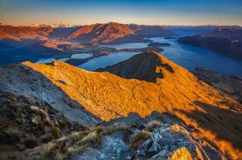 Roys Peak Sunrise, Wanaka, Neuseeland