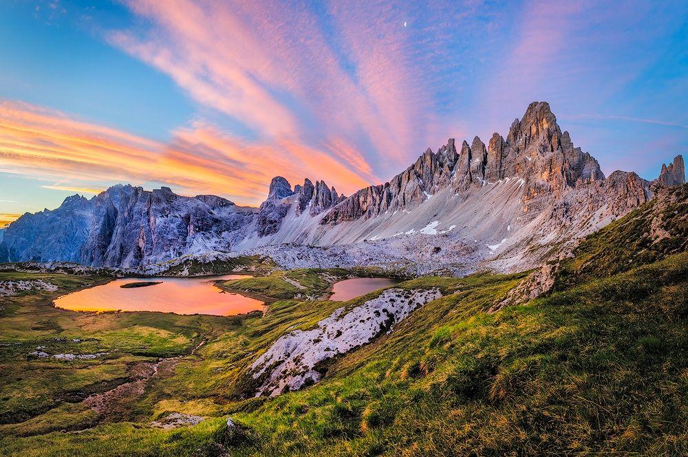 Paternkofel und Bödensee, Südtirol, Italien