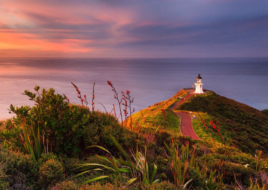 Lost in Light, Cape Reinga, New Zealand
