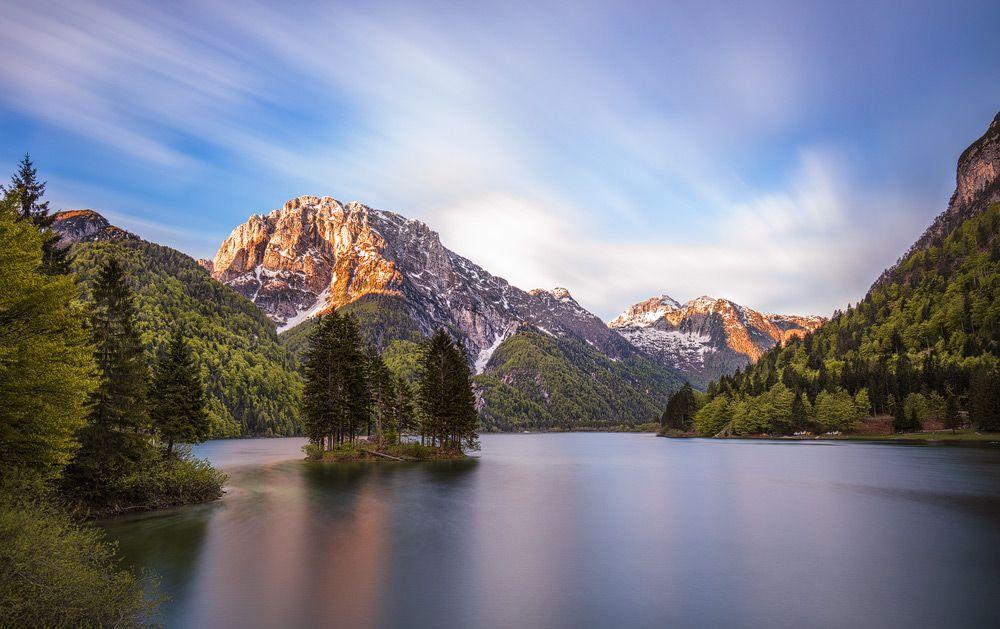 Lago del Predil, Raibler See, Friaul-Julisch Venetien, Italien
