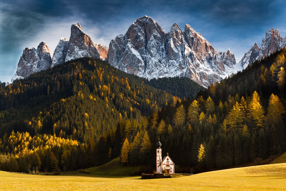 Ranui - St. Johann, Villnöstal, Südtirol, Dolomiten, Italien