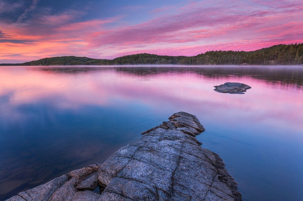Stora Le Sunset, Dalsland, Schweden