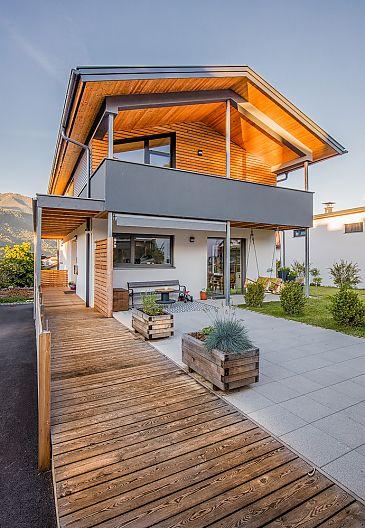 Hauseingang Einfamilienhaus