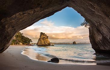 Cathedral Cove, Coromandel, Neuseeland