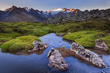 Guten Morgen, Gletscher, Stubaier Alpen, Tirol, Österreich