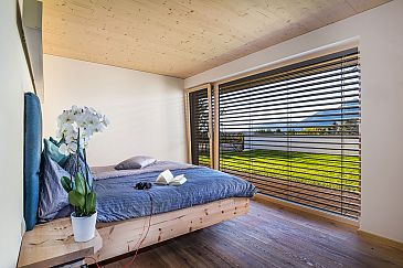 Schlafzimmer, Einfamilienhaus, Axams, Tirol