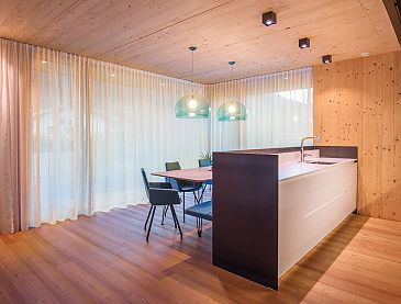 Küche, Doppelhaus, Polling, Tirol