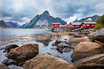 Reine Waterview, Lofoten, Norwegen