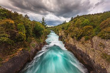 Huka Falls, Neuseeland