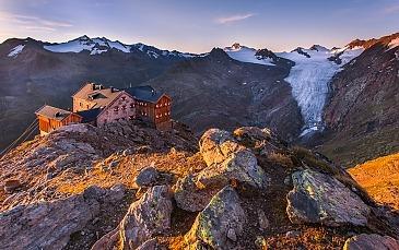 Ramolhaus,Ötztaler Alpen, Tirol, Österreich