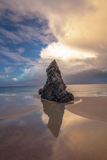 Sango Bay Rock, Sango Bay, Schottland