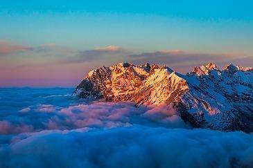 Sea of Clouds, Seefeld in Tirol, Karwendel, Österreich
