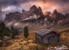 Dolomiten Landschaftsbilder Landschaftsfotos